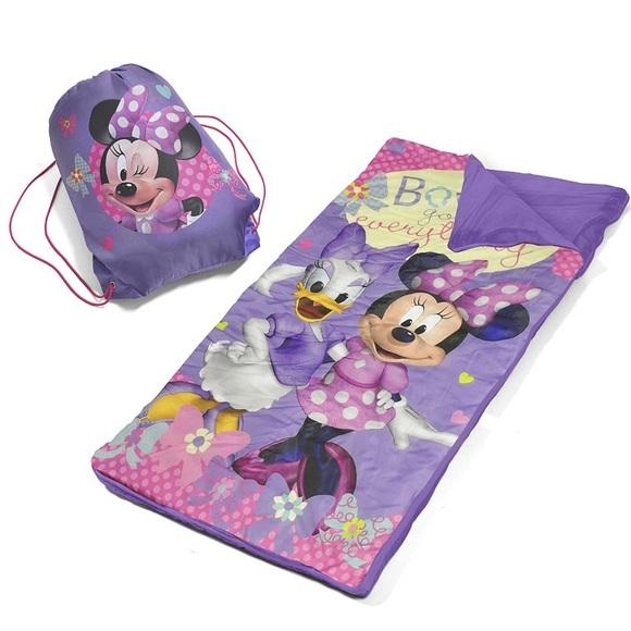 DISNEY Minnie & Daisy Slumber Sleeping Bag Set